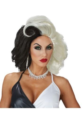 Peruca Diva Cruela 101 dálmatas – Womens Cruel Diva Wig