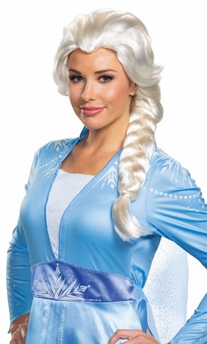 Peruca Elsa Adulto Frozen 2  – Elsa Adult Frozen 2 Wig