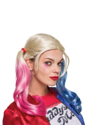 Peruca Harley Quinn Esquadrão Suicida  – Suicide Squad Adult Harley Quinn Wig