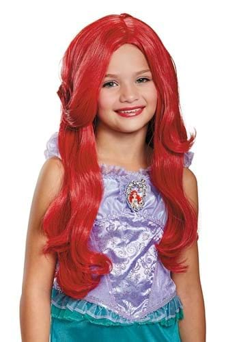 Peruca Infantil pequena sereia Ariel – The Little Mermaid Deluxe Ariel Wig