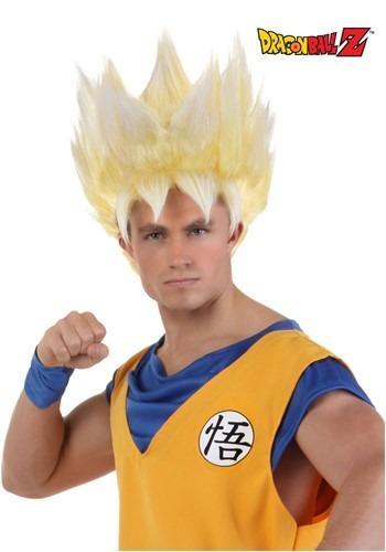 Peruca Super Saiyan Goku adulta – Adult Super Saiyan Goku Wig
