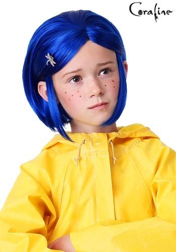 Peruca coraline feminina infantil – Girl's Coraline Wig