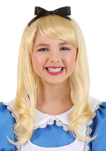 Peruca criança Alice no Pais das Maravilhas – Child Alice Wig