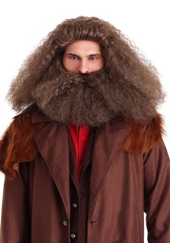 Peruca e Barba Rúbeo Hagrid Harry Potter – GameKeeper Wizard Wig and Beard for Adults