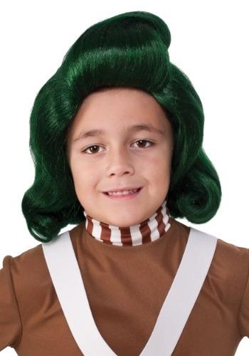 Peruca infantil Oompa Loompa – Kids Oompa Loompa Wig