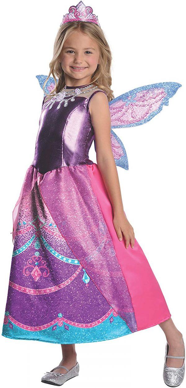 Fantasia Barbie Fairytopia Mariposa – Barbie Fairytopia Mariposa and Her Butterfly Fairy Friends Deluxe Catania Costume