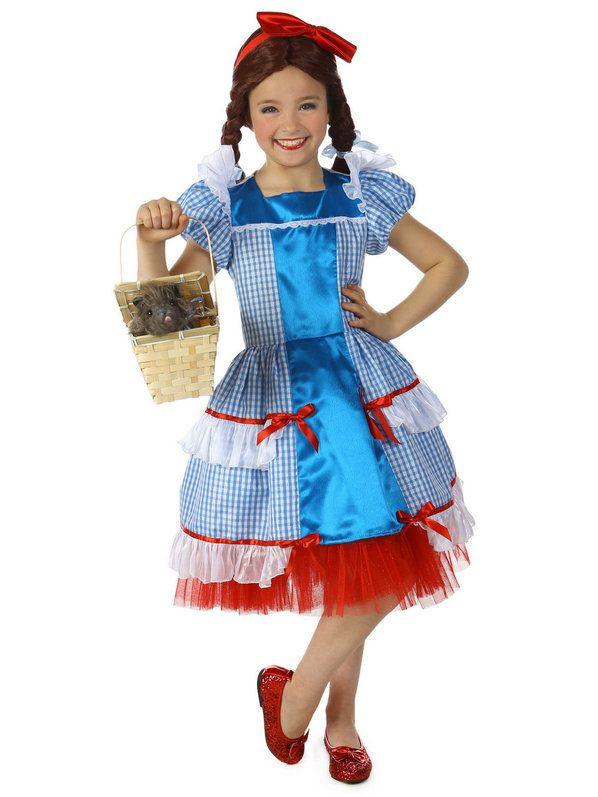 Fantasia Infantil Dorothy, o mágico de Oz – Girls Sassy Dorothy The Wizard Of Oz Costume