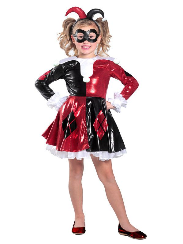 Fantasia Infantil Harley Quinn Premium – Child Harley Quinn Premium Dress