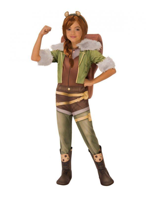 Fantasia Infantil Marvel Rising Squirrel Girl's – Marvel Rising – Secret Warriors Deluxe Squirrel Girl's Costume