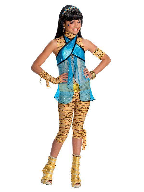 Fantasia Infantil Monster High Cleo De Nile – Monster High Cleo De Nile