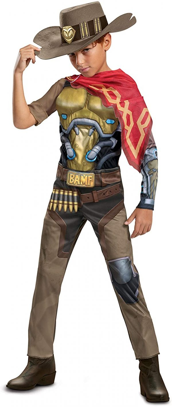 Fantasia Infantil de Overwatch McCree – Overwatch McCree Costume