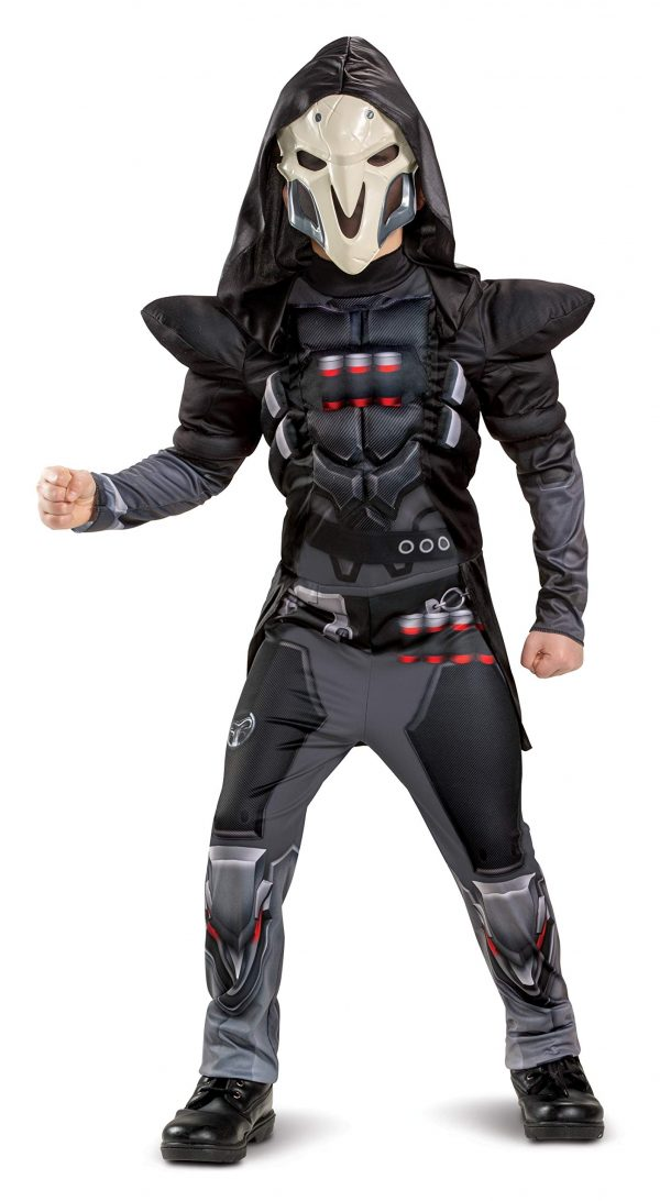 Fantasia Infantil de Reaper Overwatch -Overwatch Reaper Costume