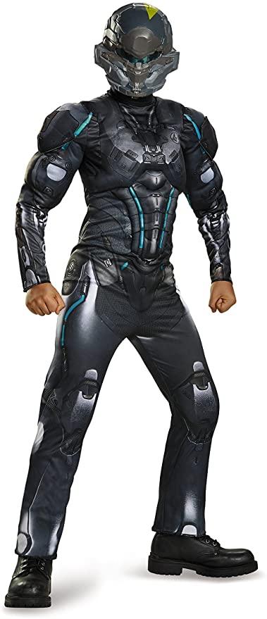 Fantasia Spartan Locke Classic  – Spartan Locke Classic Muscle Halo Microsoft Costume