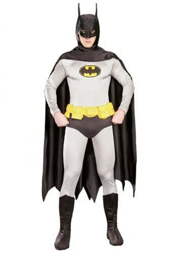 Fantasia clássico adulto autêntico do Batman – Adult Authentic Classic Batman Costume