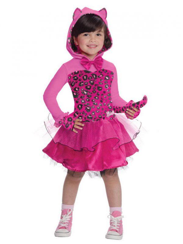 Fantasia de Barbie Kitty para meninas – Girls Toddler Barbie Kitty Costume