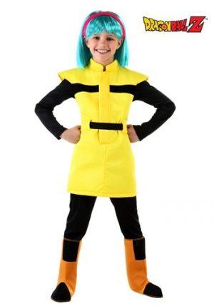 Fantasia de Dragon Ball Z Child Bulma – Dragon Ball Z Child Bulma Costume