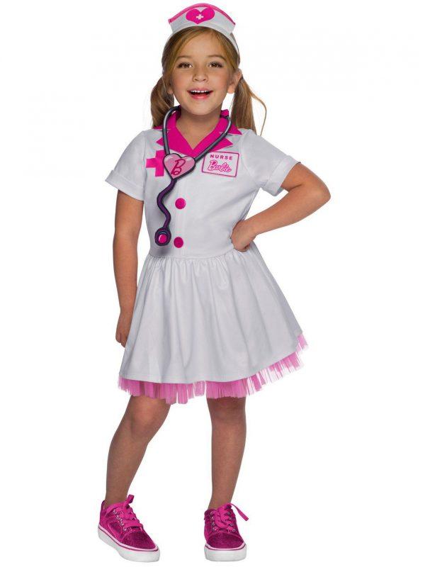 Fantasia de Enfermeira Infantil Barbie – Barbie Nurse Child Costume