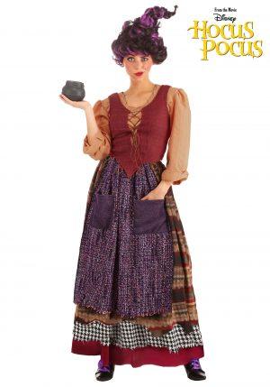 Fantasia de Mary Sanderson para mulheres do Hocus Pocus da Disney – Mary Sanderson Costume for Women from Disney's Hocus Pocus