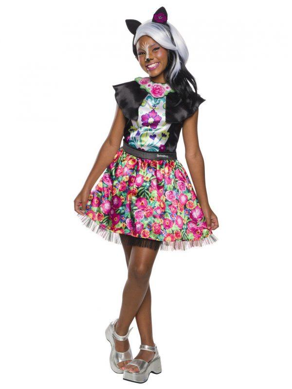 Fantasia de Sage Skunk da Enchantimals Girl – Enchantimals Girl's Sage Skunk Costume