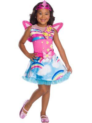 Fantasia de fada da Barbie para meninas – Barbie Fairy Costume for Girls