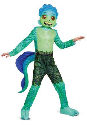 Fantasia de luxo Luca para crianças- Deluxe Luca Costume for Kids