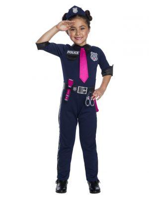 Fantasia de policial barbie para meninas – Barbie Police Officer Costume for Girls