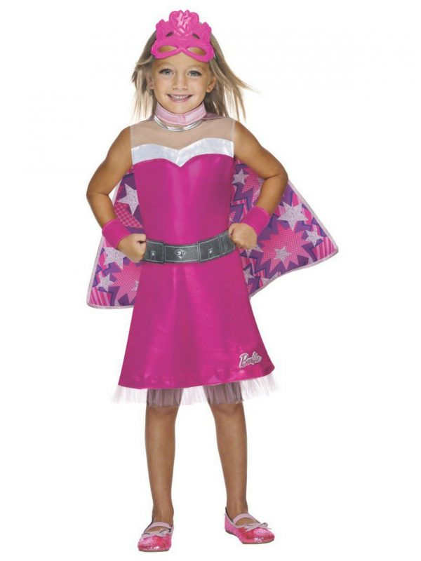 Fantasia infantil Barbie Super Sparkle infantil – Kids Barbie Super Sparkle Child Costume