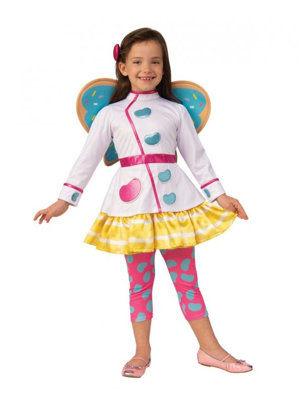 Fantasia  infantil Butterbean Cafe  – Butterbean Cafe Butterbean Deluxe Child Costume