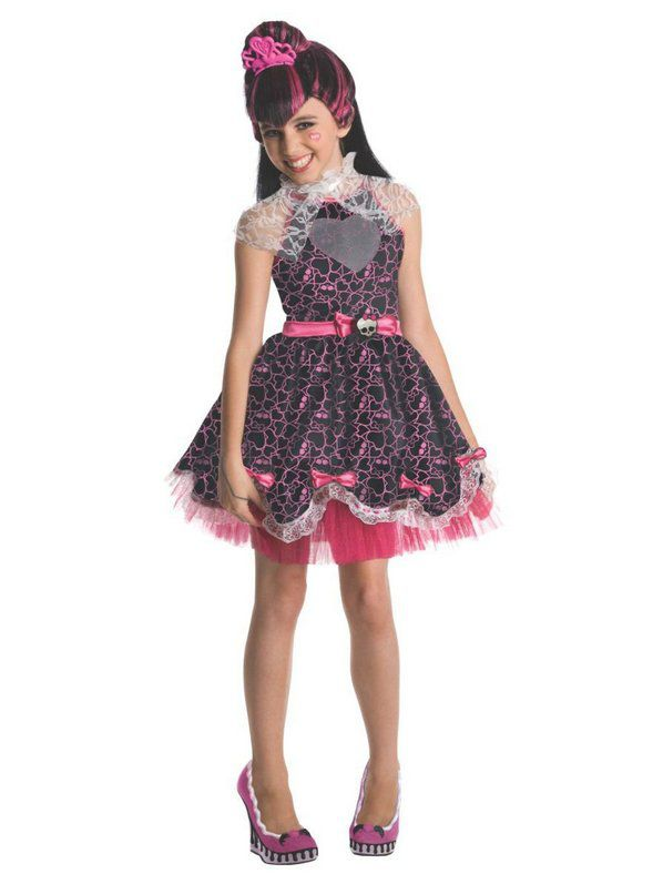 Fantasia infantil Draculaura Sweet 1600 Monster Hig – Girls Draculaura Sweet 1600 Monster Hig