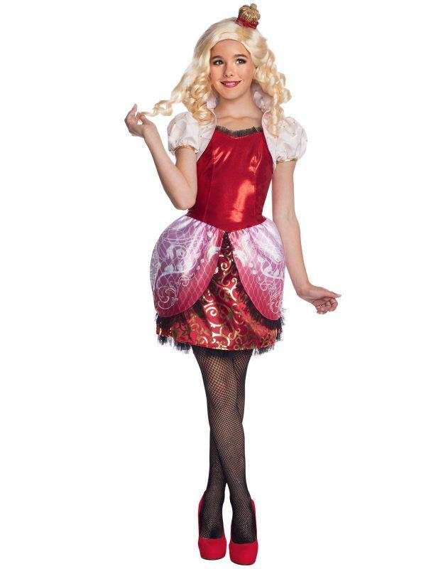 Fantasia infantil  Ever After High Apple White Costu – Ever After High Apple White Girls Costu