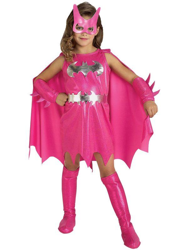 Fantasia infantil de Batgirl (rosa) – Kids Batgirl Costume (Pink)