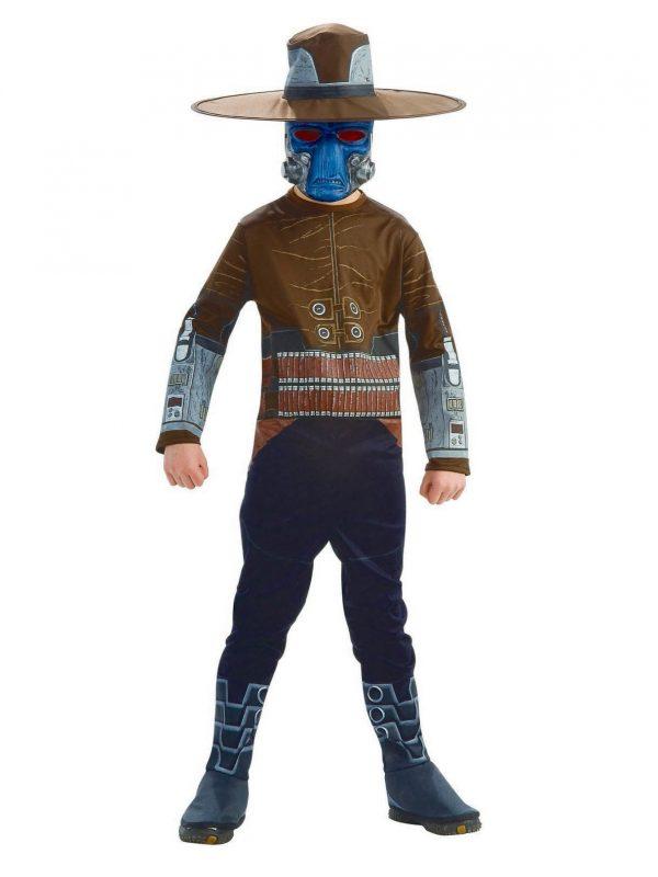 Fantasia infantil  para meninos H / S Cad Bane (Guerra nas estrelas) – Boys H/S Cad Bane (Star Wars) Costume