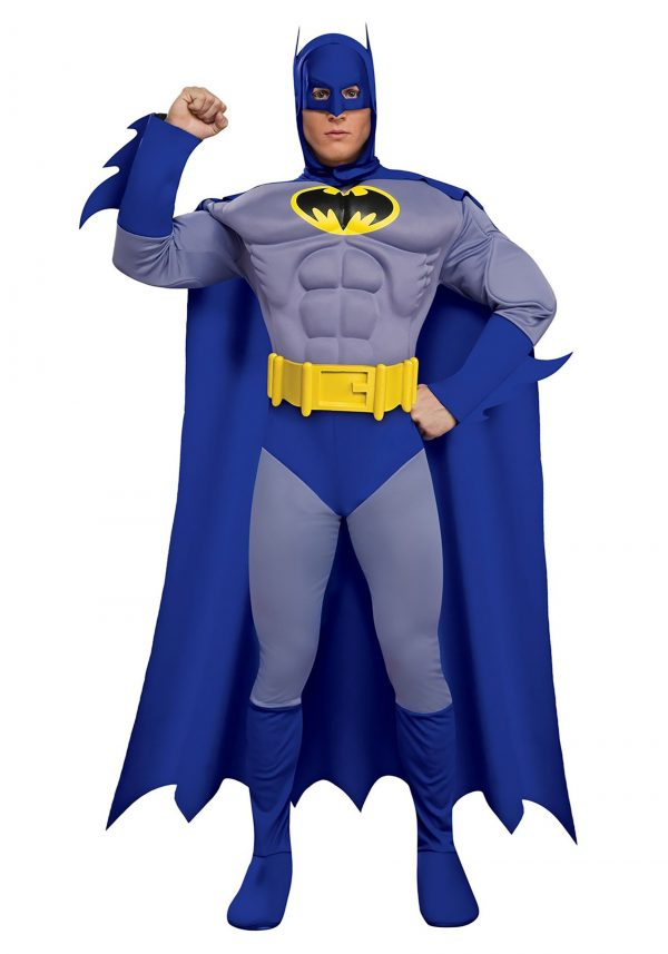 Fantasia  masculino Deluxe Muscle Chest Batman – Deluxe Muscle Chest Batman Men's Costume