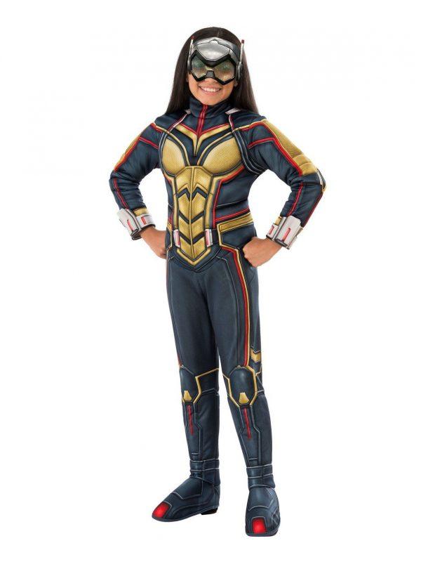 Vingadores: fantasia de criança Deluxe Endgame Wasp- Avengers: Endgame Wasp Deluxe Child Costume