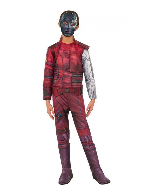 Vingadores: fantasia infantil de luxo Endgame Nebula – Avengers: Endgame Nebula Deluxe Child Costume