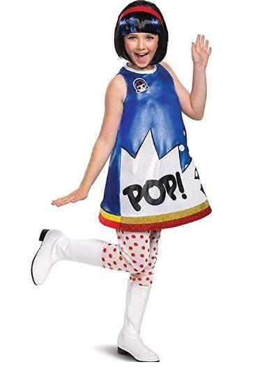 Fantasia Infantil LOL Surprise POP – Disguise Girls' LOL Surprise POP Heart Deluxe Child Costume