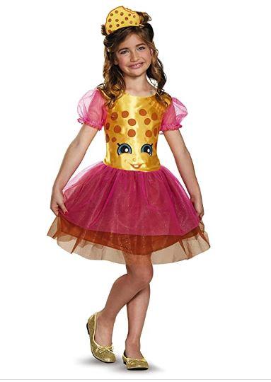 Fantasia Infantil Shopkins Cookie  – Kookie Cookie Classic Shopkins The Licensing Shop Costume