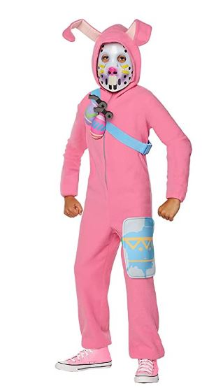 Fantasia FortNite Rabbit Raider – InSpirit Designs Licensed FortNite Rabbit Raider Youth Costume Pink
