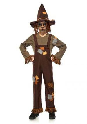 Fantasia de Espantalho do Mal para Crianças – Evil Scarecrow Kids Costume
