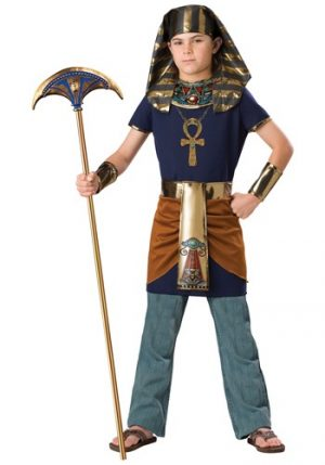 Fantasia de  Faraó Infantil – Kids Pharaoh Costume