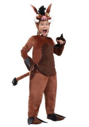 Fantasia de Javali Infantil – Kid's Warthog Costume