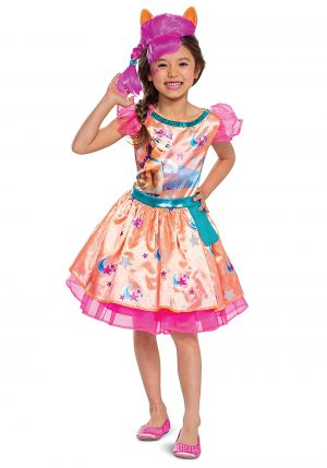 Fantasia de MLP Movie Sunny Starscout para crianças – MLP Movie Sunny Starscout Costume for Kids and Toddlers