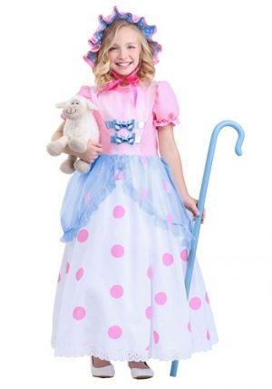 Fantasia de Pequena  Bo Peep para Meninas – Little Bo Peep Girls Costume