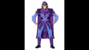 Fantasia de esqueleto adulto Mestres do Universo- Adult Skeletor Costume  Masters of the Universe: Revelation