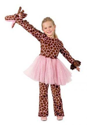 Fantasia de fantoche de girafa de menina – Girl's Puppet Giraffe Costume