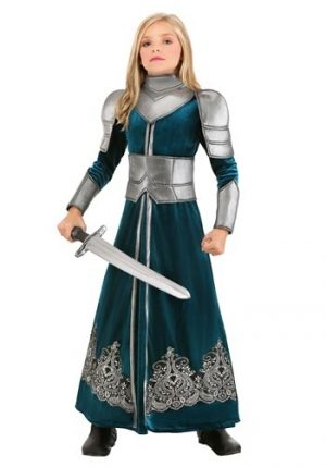 Fantasia de guerreira medieval para meninas- Girls Medieval Warrior Costume