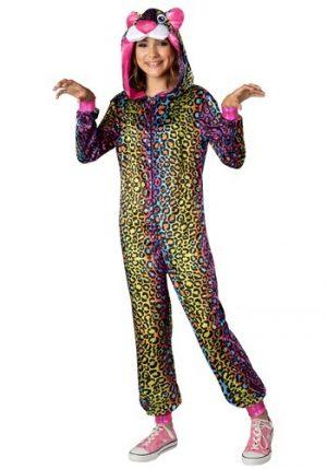 Fantasia  de leopardo Tween Neon – Tween Neon Leopard Costume