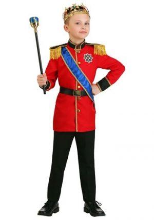 Fantasia de menino rei europeu – Boy's European King Costume