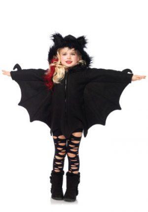 Fantasia de morcego aconchegante para meninas – Girls Cozy Bat Costume
