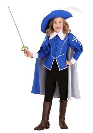 Fantasia de mosqueteiro feminino infantil – Girl's Musketeer Costume